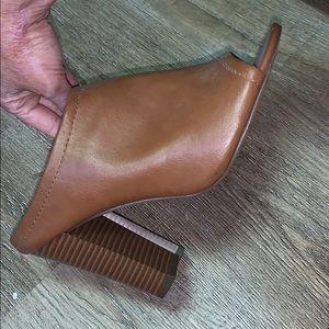 Open toe Target block heel